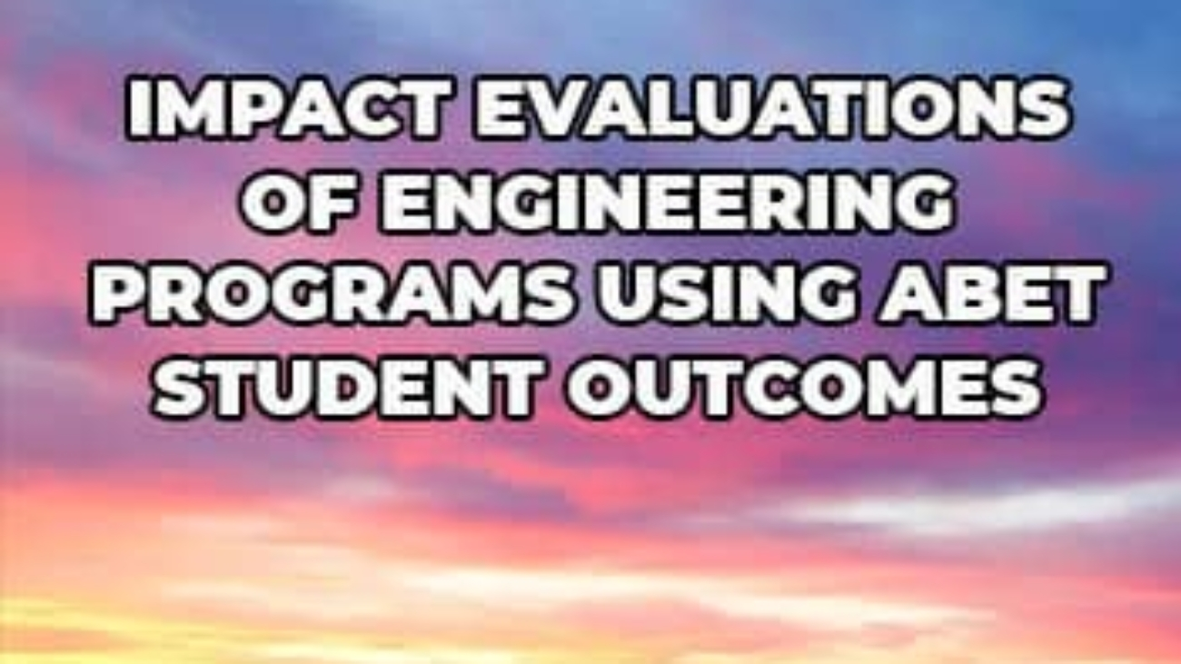 Evaluations-of-Engineering-Programs